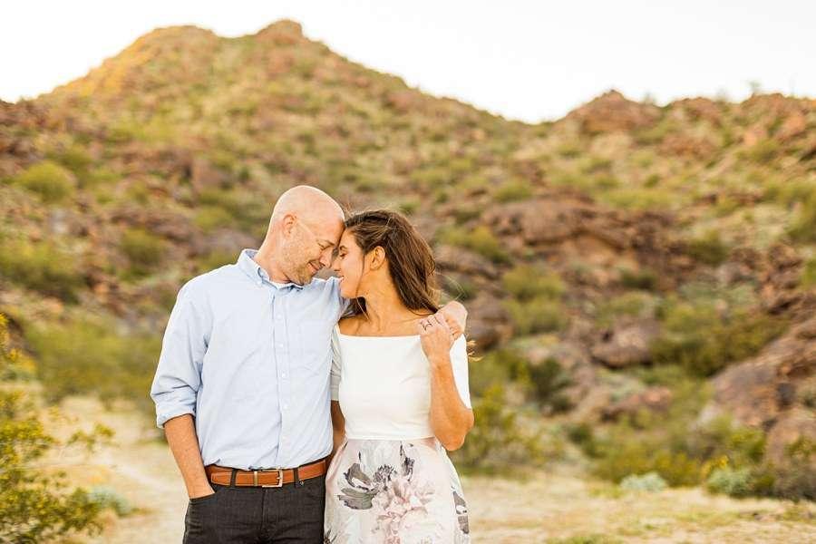 Liz and Jeremy: Tempe Arizona Engagement Photographers in love
