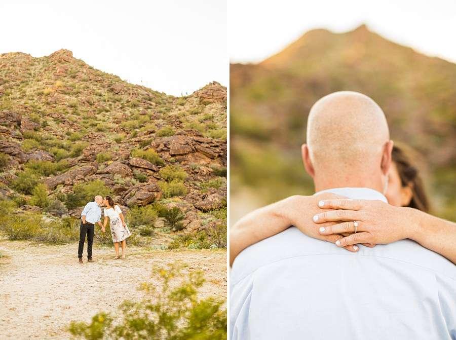 Liz and Jeremy: Tempe Arizona Engagement Photographers ring