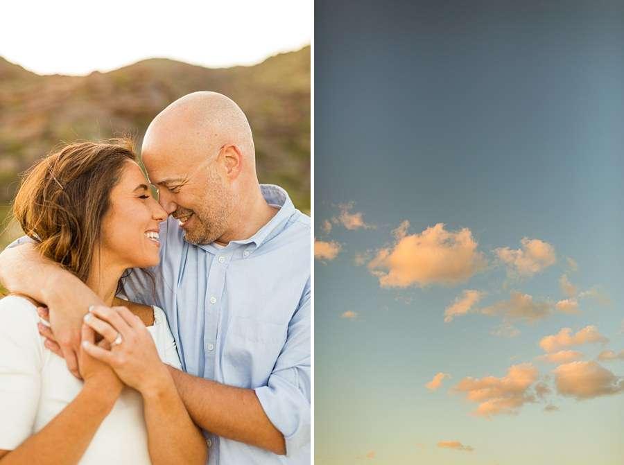 Liz and Jeremy: Ahwatukee AZ Portrait Photography snuggles