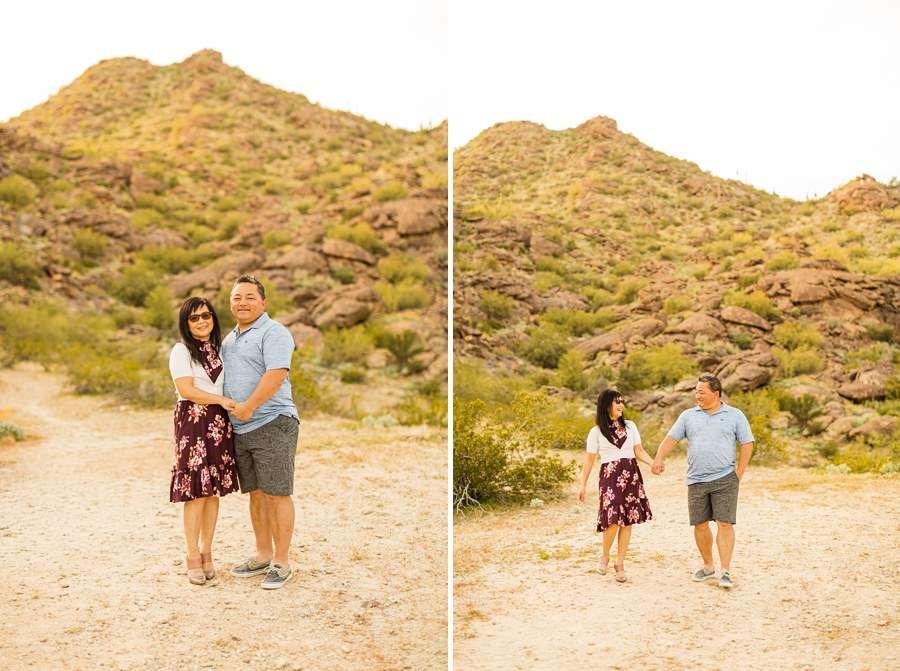 The Martin Family: Tempe Arizona Family Photographers grandparents