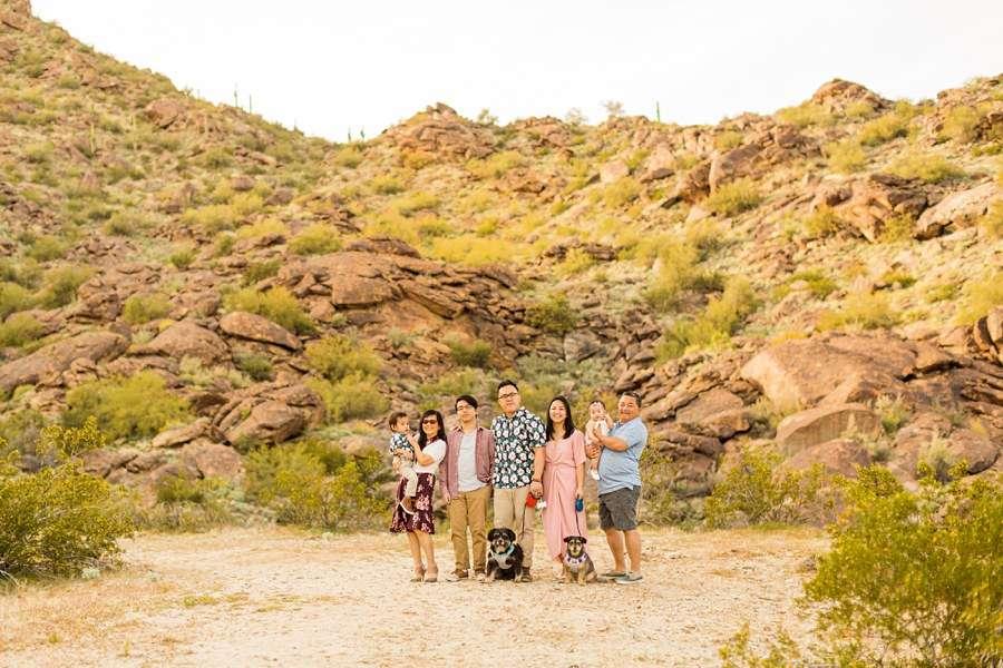 The Martin Family: Tempe Arizona Family Photographers happy