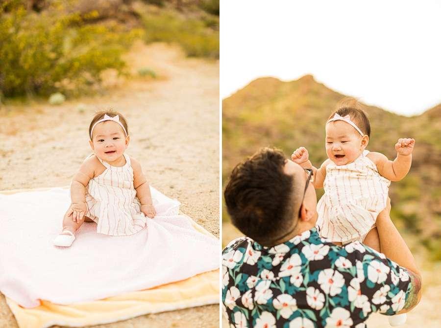 The Martin Family: Phoenix AZ Portrait Photography baby