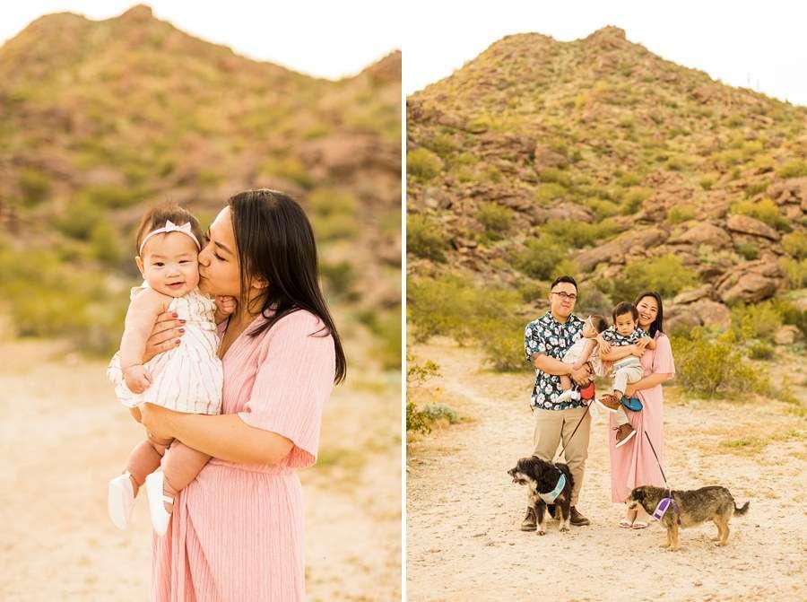 The Martin Family: Phoenix AZ Portrait Photography mom