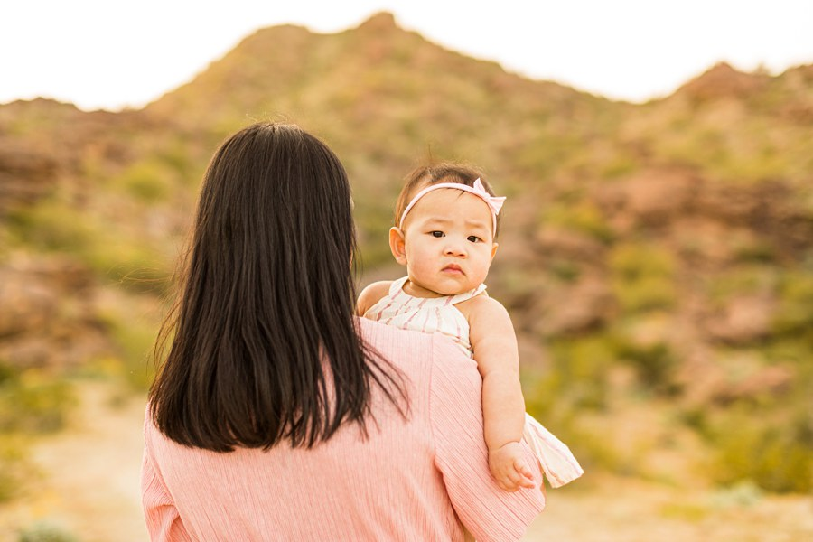 The Martin Family: Phoenix AZ Portrait Photography little girl