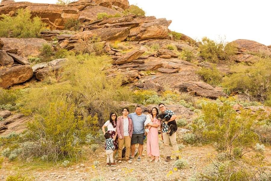 The Martin Family: Phoenix AZ Portrait Photography family