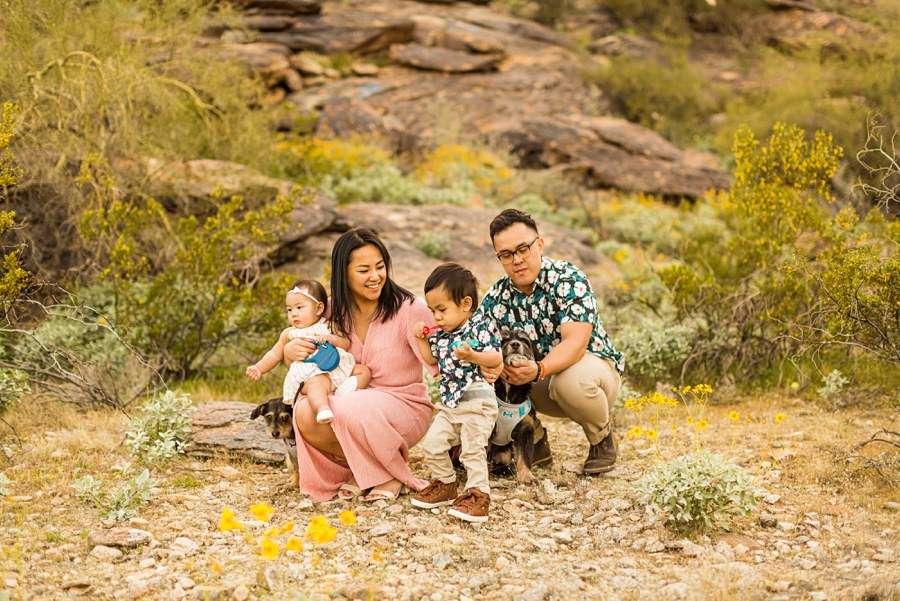 The Martin Family: Phoenix AZ Portrait Photography kids