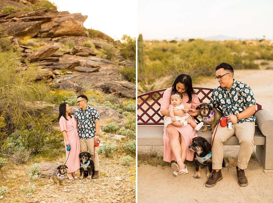 The Martin Family: Phoenix AZ Portrait Photography together