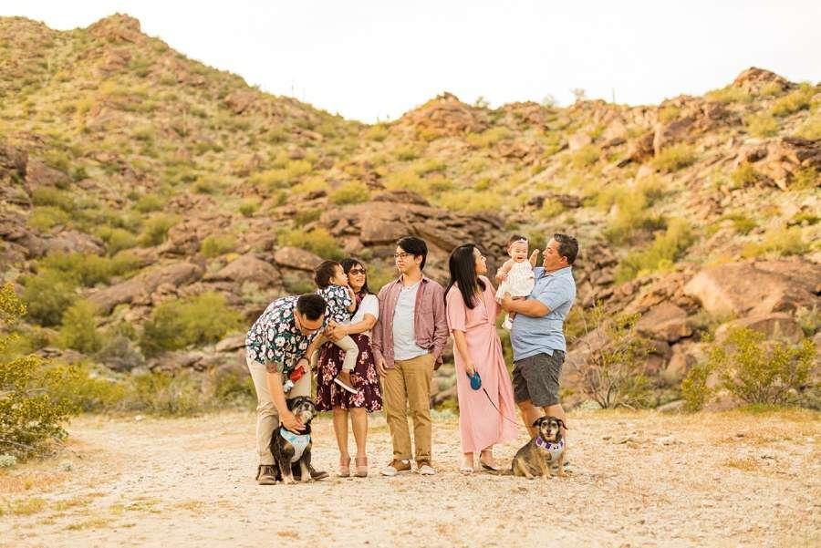 The Martin Family: Tempe Arizona Family Photographers creative