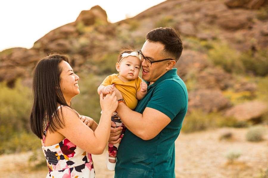 The Martin Family: Phoenix AZ Portrait Photography love