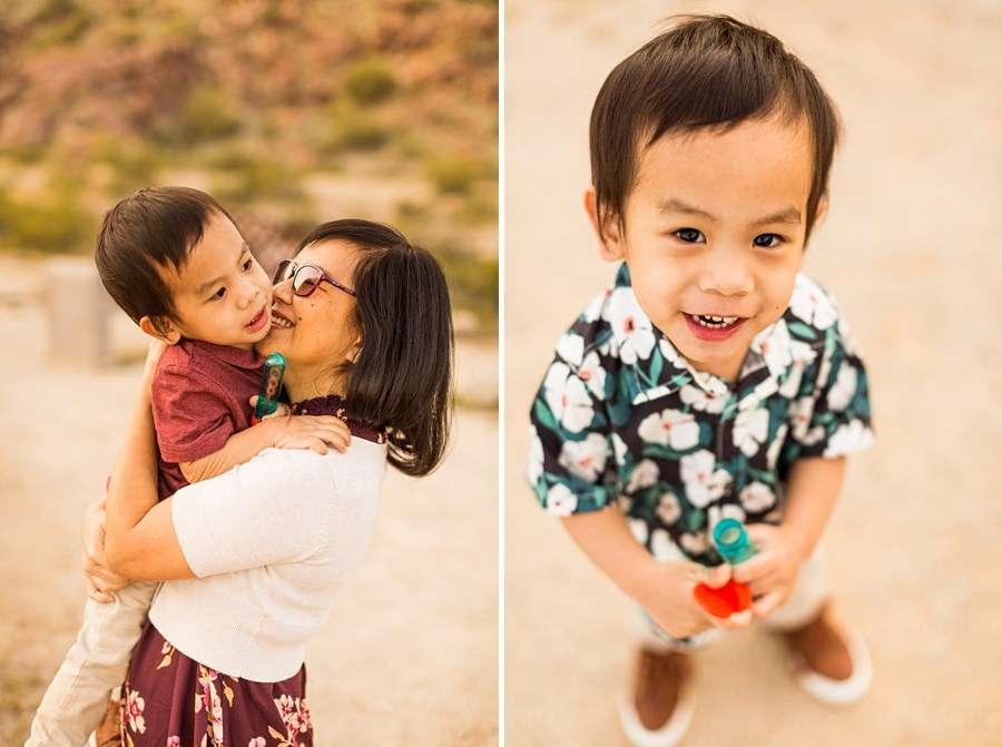 The Martin Family: Phoenix AZ Portrait Photography little one