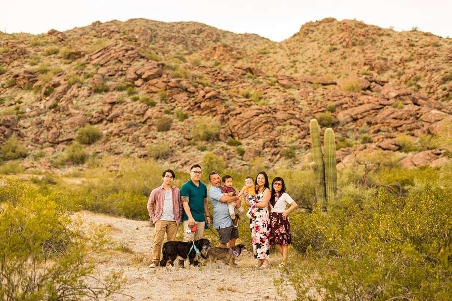 The Martin Family: Phoenix AZ Portrait Photography happy