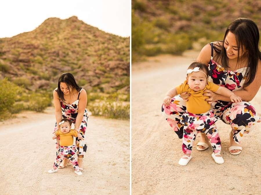 The Martin Family: Phoenix AZ Portrait Photography infant