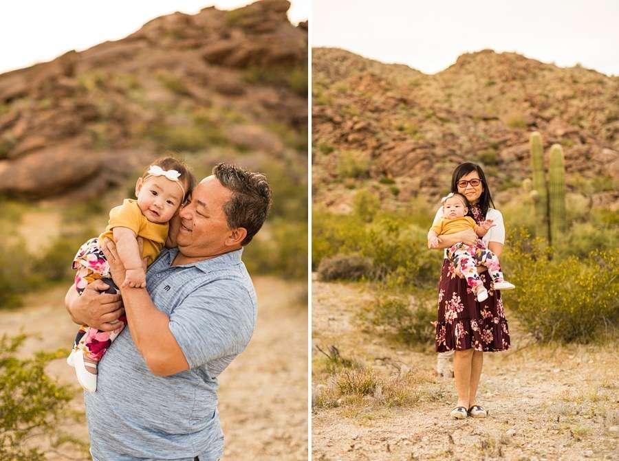 The Martin Family: Phoenix AZ Portrait Photography grandparents