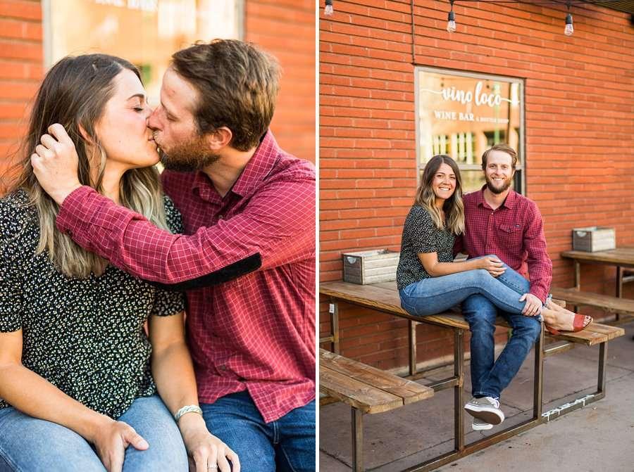 Natalia and Sean: Northern Arizona Portrait Photography snuggles