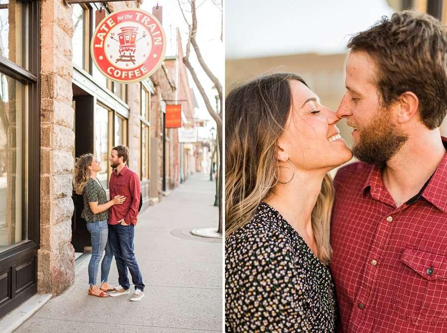 Natalia and Sean: Northern Arizona Portrait Photography streets