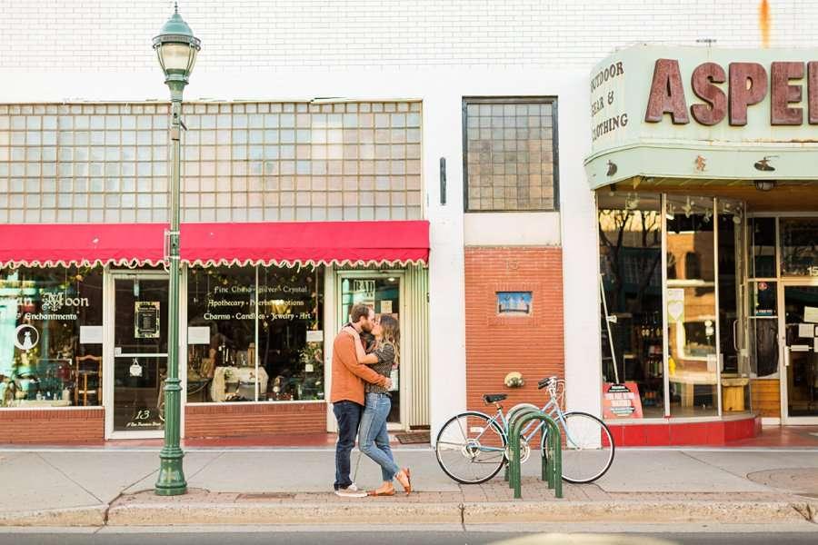 Natalia and Sean: Northern Arizona Portrait Photography downtown