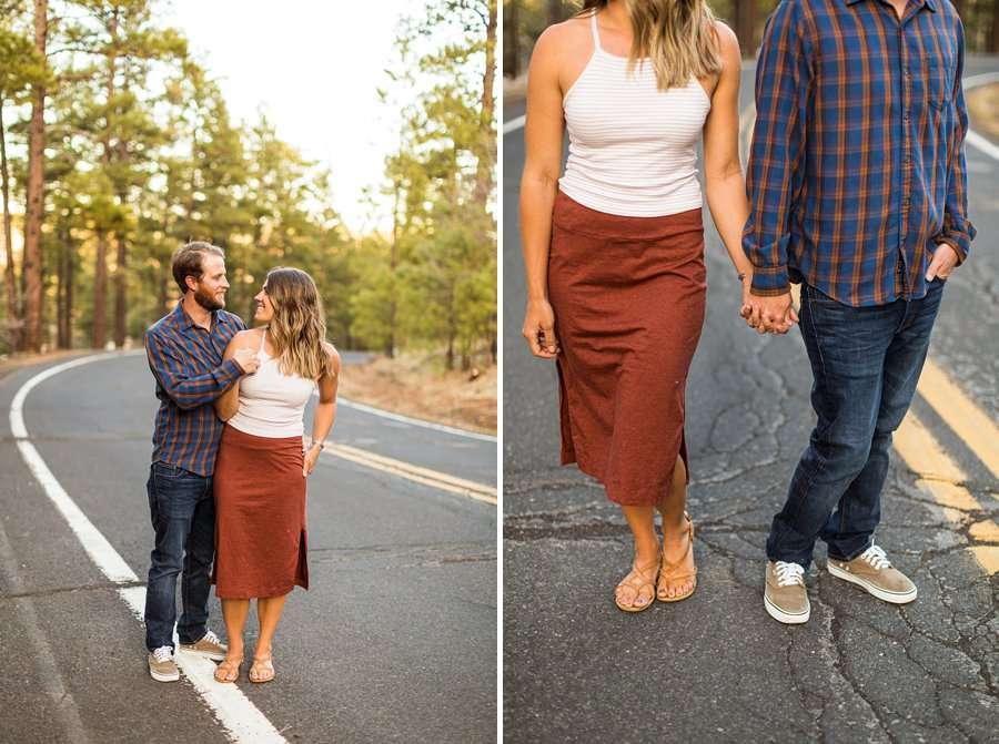 Natalia and Sean: Northern Arizona Portrait Photography travel