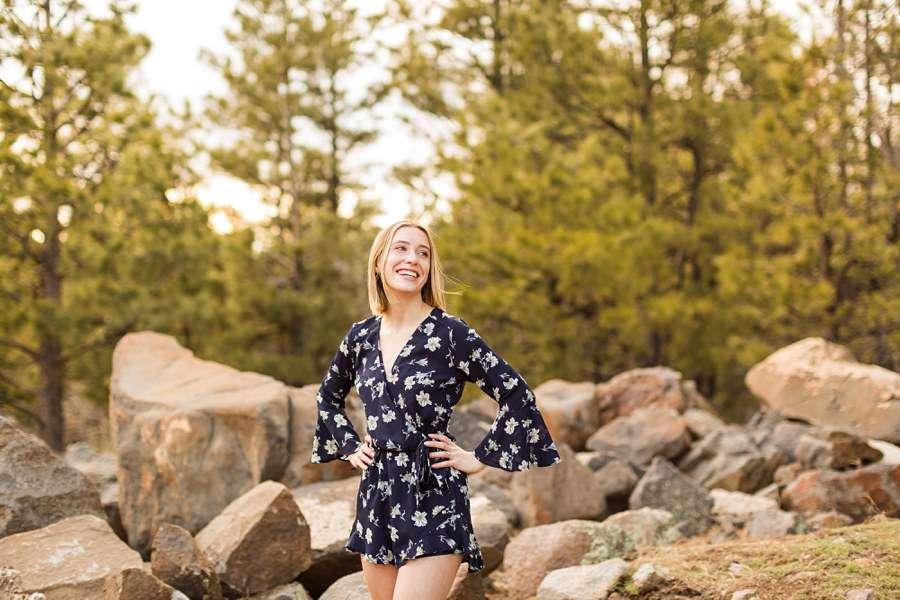 Savannah: Northern AZ Senior Photography woman