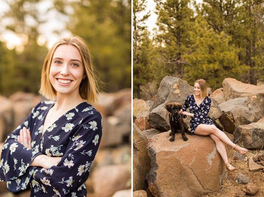 Savannah: Northern AZ Senior Photography girl