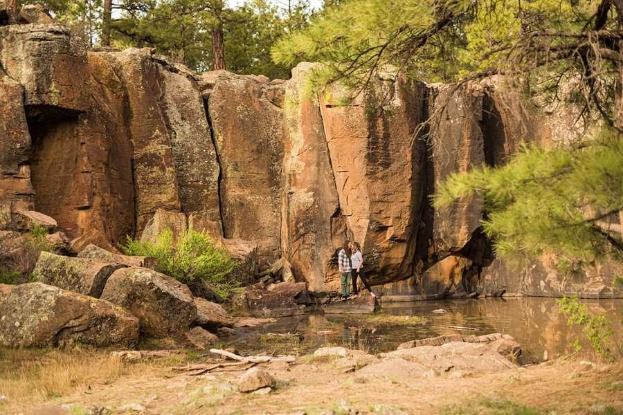 Taylar and Jacob: Northern Arizona Engagement Photography Session arizona