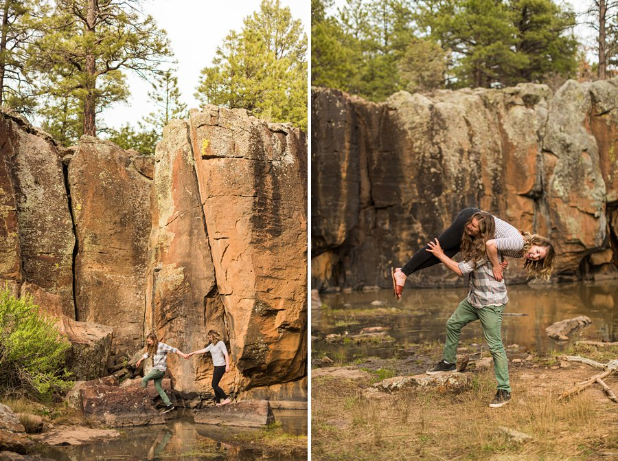 Taylar and Jacob: Flagstaff AZ Portrait Photographer adventure