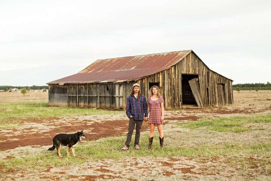 Taylar and Jacob: Flagstaff AZ Portrait Photographer couple