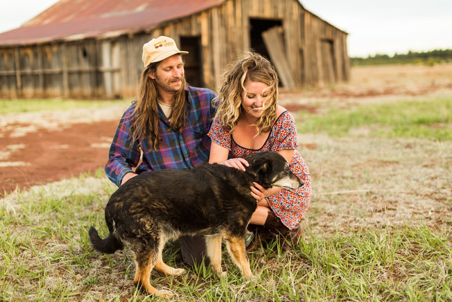 Taylar and Jacob: Flagstaff AZ Portrait Photographer family with dog