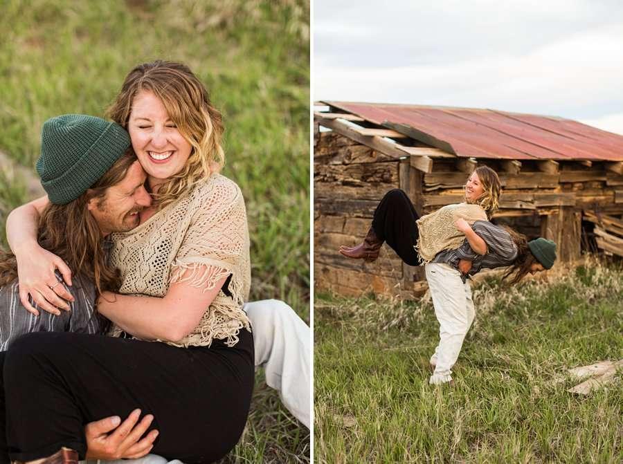 Taylar and Jacob: Flagstaff AZ Portrait Photographer laughter
