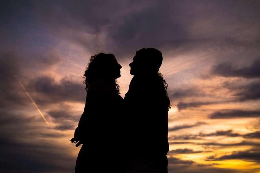 Taylar and Jacob: Flagstaff AZ Portrait Photographer sunset
