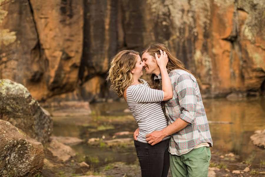 Taylar and Jacob: Northern Arizona Engagement Photography Session love