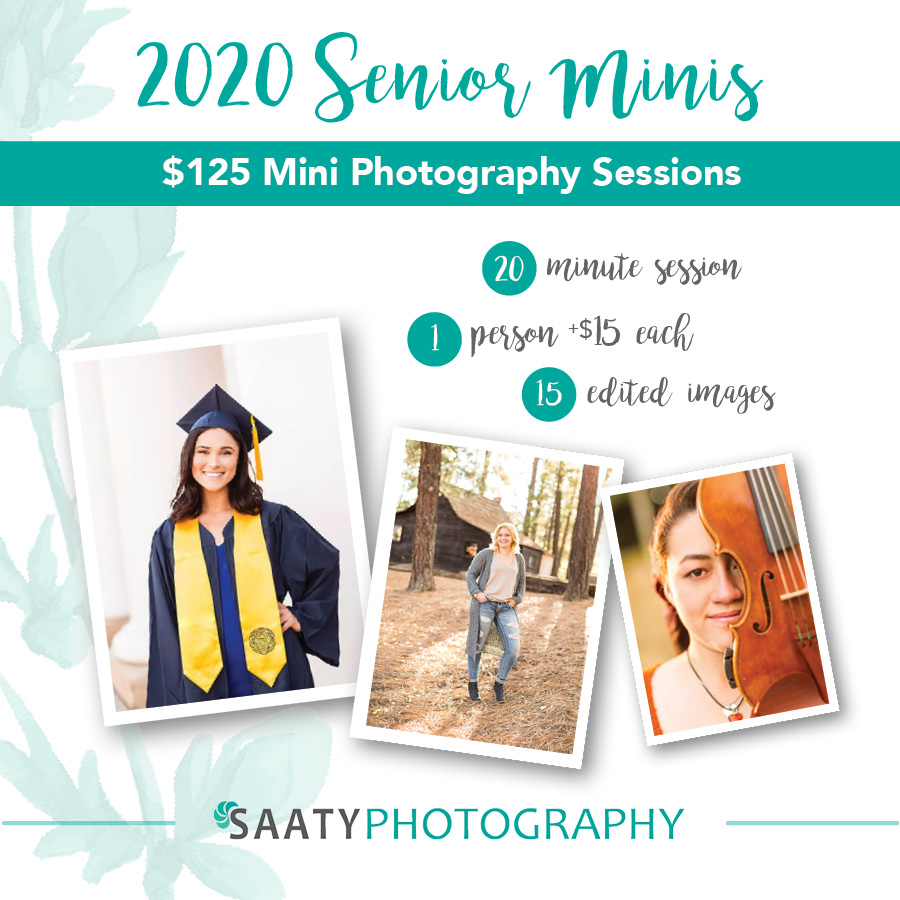Flagstaff 2020 Mini Senior Photography Session