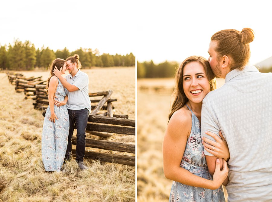 Andrea and Ty - Northern Arizona Portrait Photographer smiles
