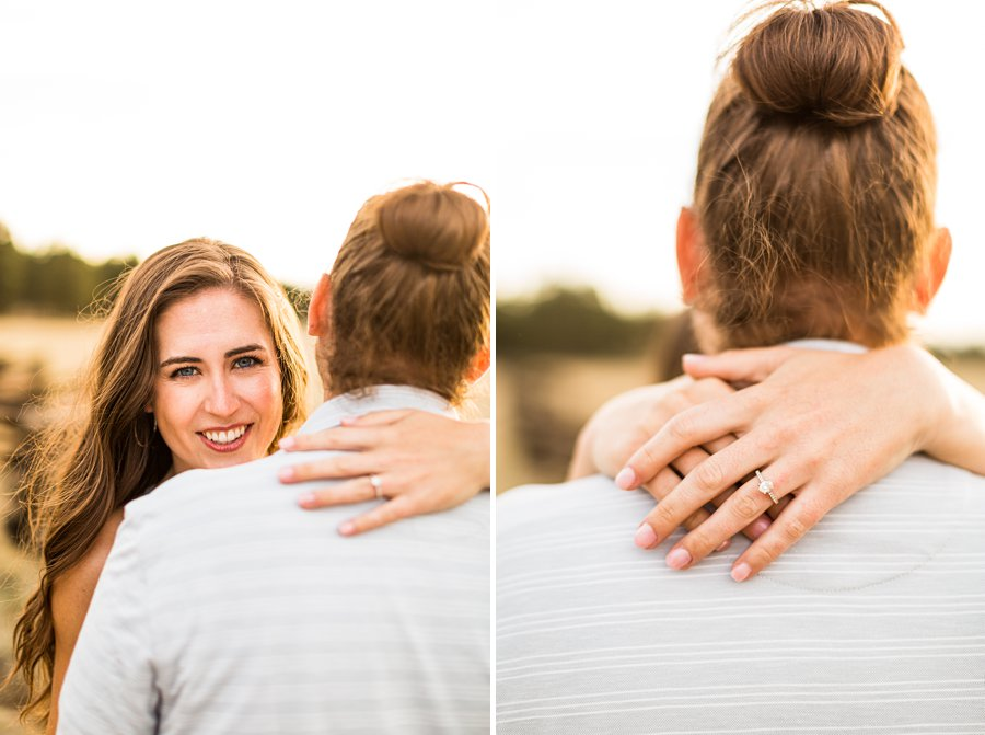 Andrea and Ty - Northern Arizona Portrait Photographer engagement ring
