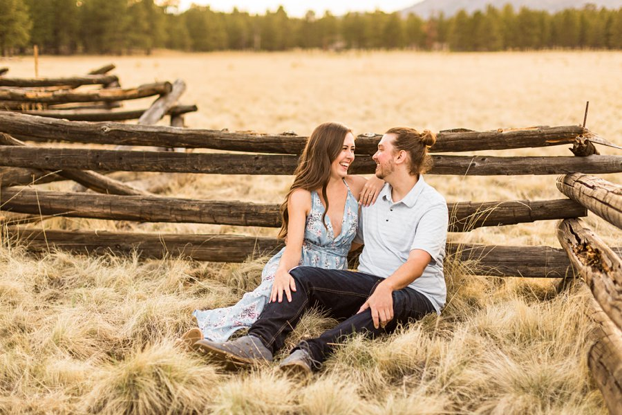 Andrea and Ty - Northern Arizona Portrait Photographer love