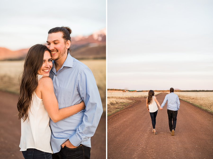 Andrea and Ty - Northern Arizona Portrait Photographer goodbye