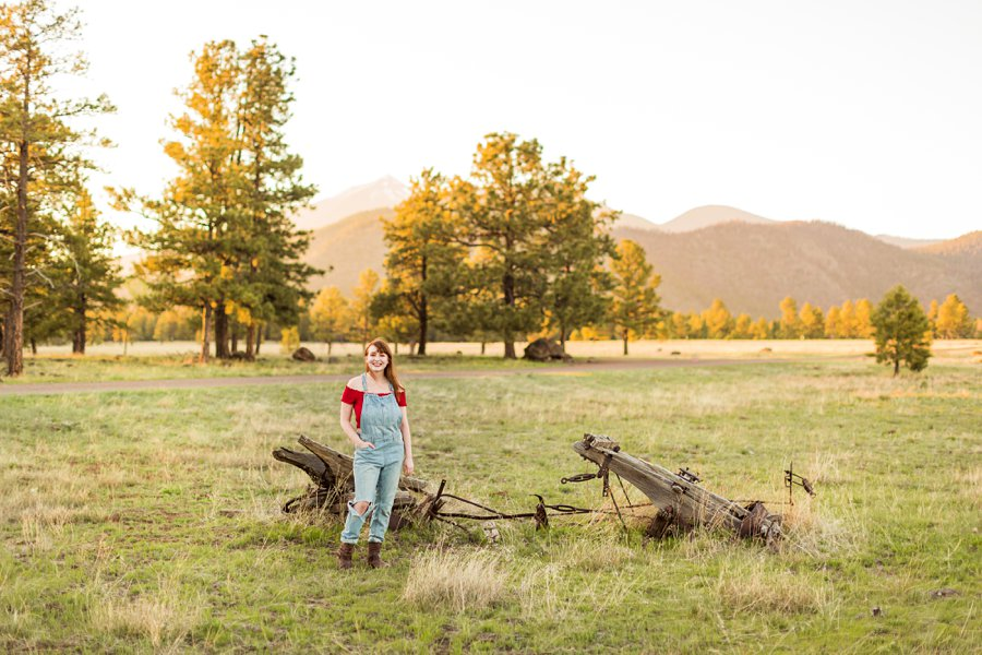 Bethany: Flagstaff Senior Portrait Photographers senior