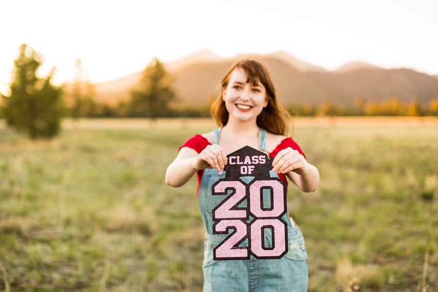 Bethany: Flagstaff Senior Portrait Photographers girl