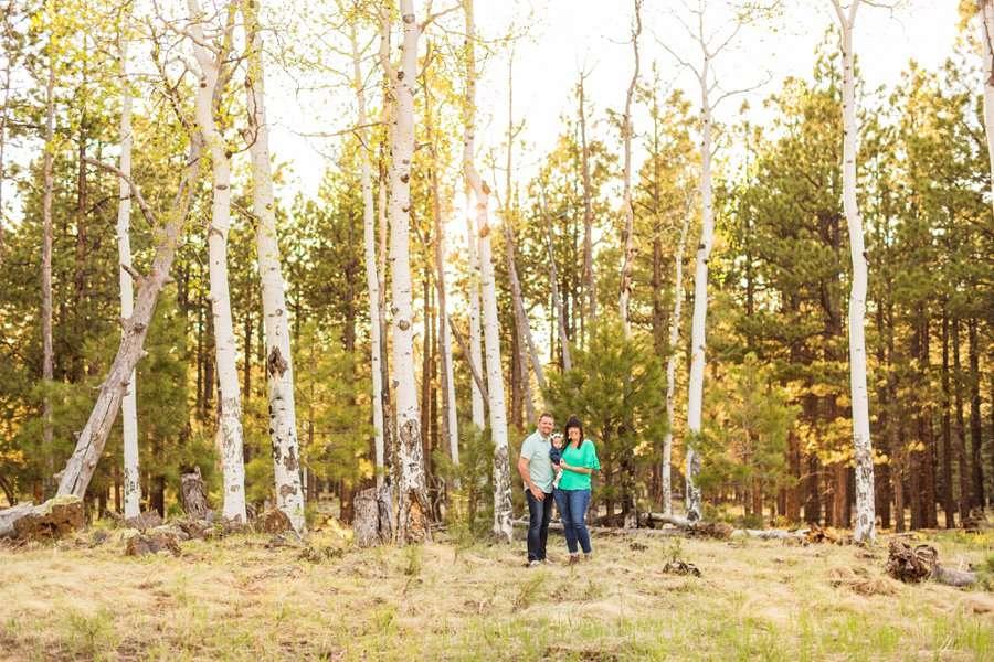 Bowman Family: Family Photographer Flagstaff AZ aspens