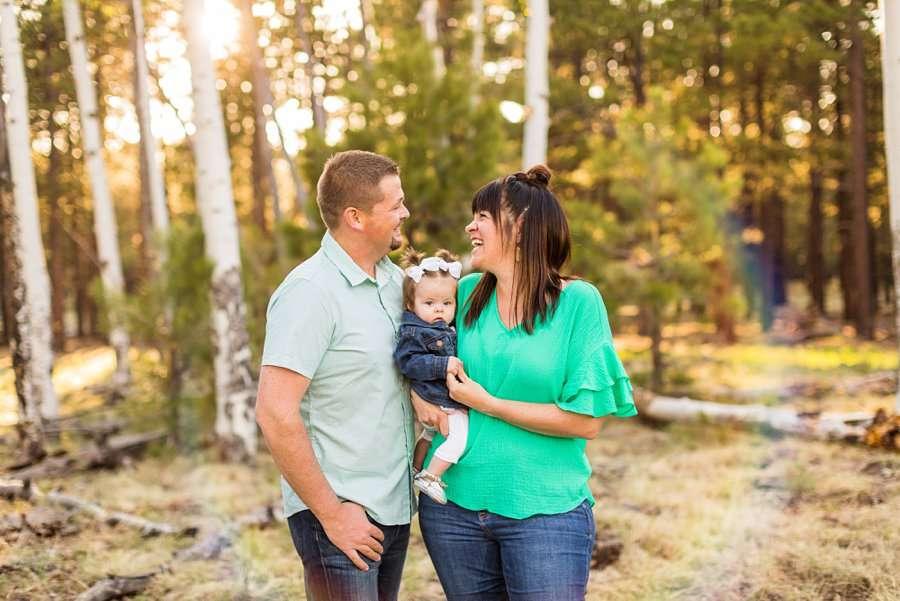 Bowman Family: Family Photographer Flagstaff AZ joy
