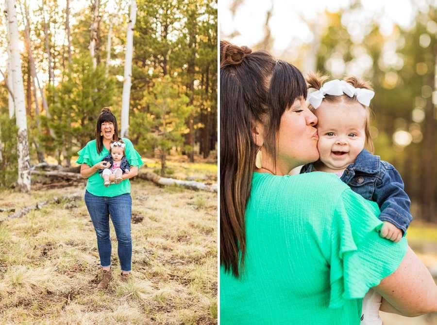 Northern Arizona Families Photography: Bowman Family joy joy baby