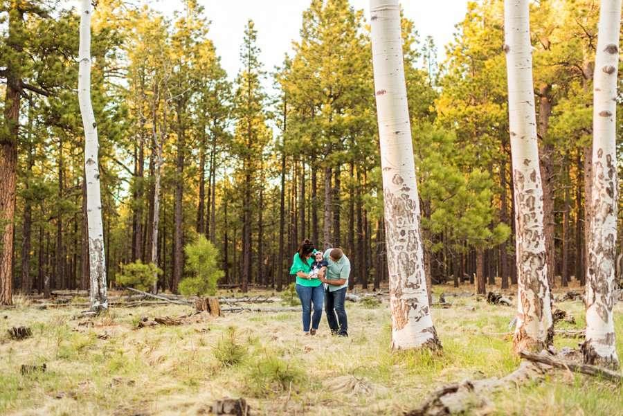Bowman Family: Northern Arizona Families Photography landscape