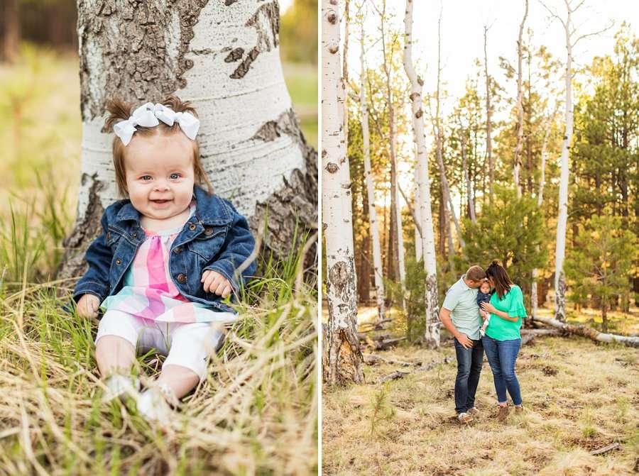 Bowman Family: Family Photographer Flagstaff AZ newborn and babies
