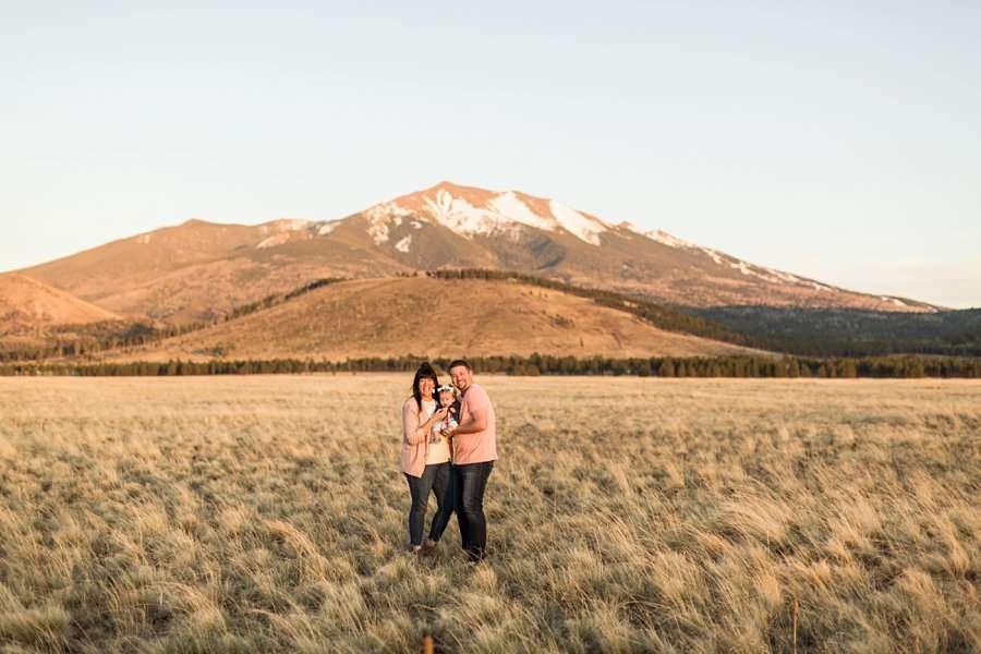 Bowman Family: Northern Arizona Families Photography mountains