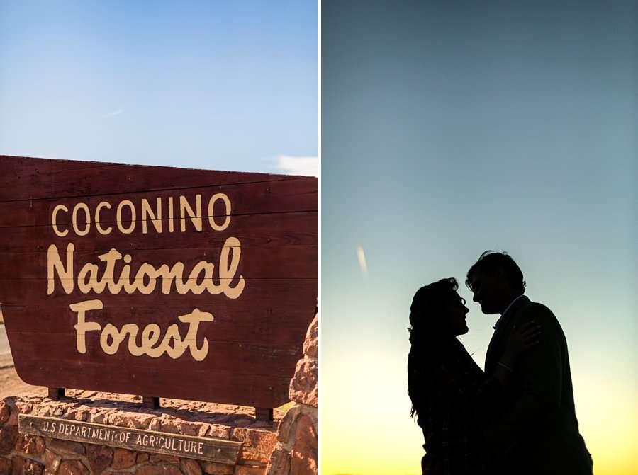 Brianna and John: Northern AZ Portrait Photography coconino