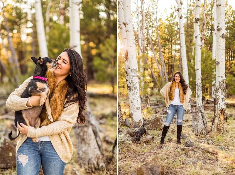 Brianna and John: Northern AZ Portrait Photography joy