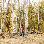Brianna and John: Adventure Engagement Flagstaff Arizona running