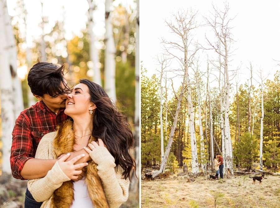 Brianna and John: Northern AZ Portrait Photography snuggles