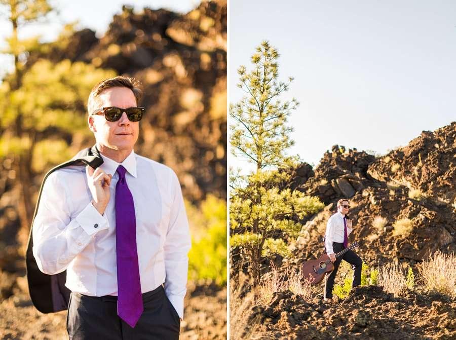 CF Black: Arizona Musician Portrait Photography man in black