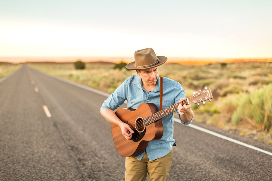 CF Black: Flagstaff Sedona Band Photographer man playing guitar