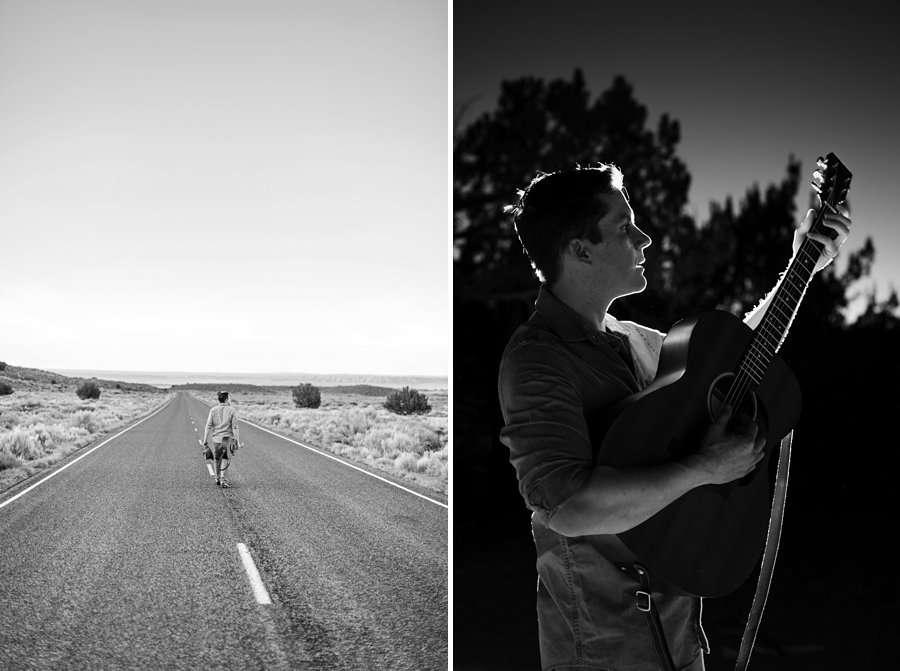 CF Black: Arizona Musician Portrait Photography moody and dark